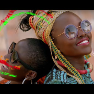 Lupita Nyong'o and Madina Nalwanga Dance in The Music Video For '#1 Spice .'