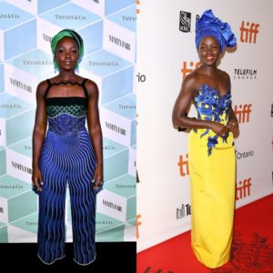 Lupita Nyong'o Rocks Some Killer Looks At the Toronto International Film Festival.