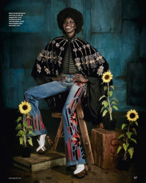 Editorials. Nykhor Paul and Mari Agory.  How To Spend It September 2016.  Images by Damian Foxe.