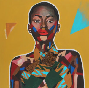 Art.  Black Woman Artists Explore Mental Health in 'Unmasked Women.'