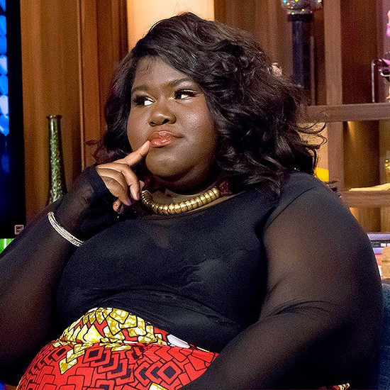 WATCH WHAT HAPPENS LIVE -- Pictured: Gabourey Sidibe -- (Photo by: Charles Sykes/Bravo/NBCU Photo Bank via Getty Images)