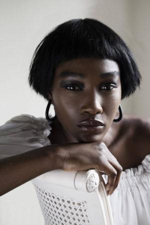 Editorials. Betty Adewole.  Models.com Images by Lakin Ogunbanwo.