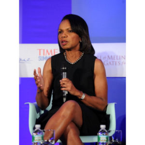 'Enough!' Condoleezza Rice Condemns Donald Trump.