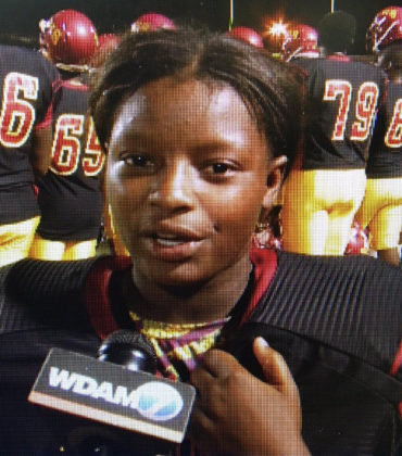 Kendall Breland Becomes the First Female High School Football Player to Score a Touchdown in Mississippi.