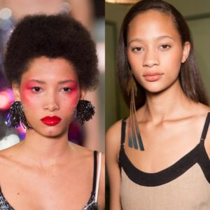 Lineisy Montero and Selena Forrest are 2 of Fashion Month's Most Booked Models.