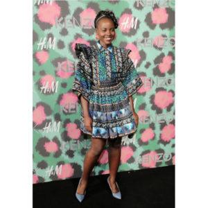 Lupita Nyong'o Wears Kenzo x H&M.