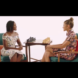 Watch This.  Lupita Nyong'o and Zendaya Talk Chess.