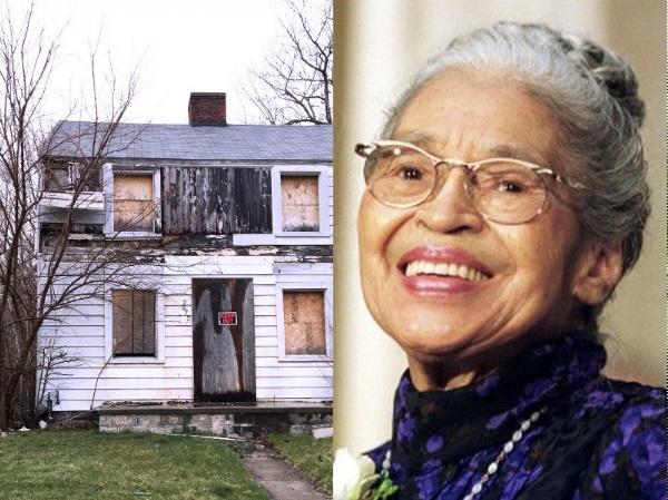 Rosa Parks Home Detroit