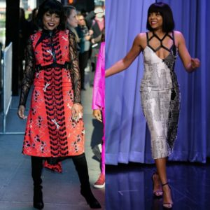 Taraji P. Henson Wears Two Looks From Bibhu Mohapatra.