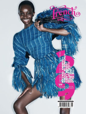 Maria Borges, Ysaunny Brito, and Nicole Atieno Cover French Revue de Modes.  Images by Thierry Le Gouès.