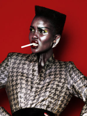 Editorials. Aliane Uwimana Channels Grace Jones for Gala Magazine.  Images by Rasmus Mogensen.