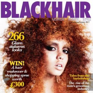 'Blackhair' Magazine Accidentally Puts a White Model On Its Cover.