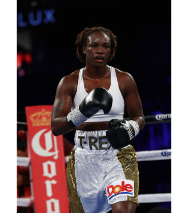 Olympic Boxer Claressa Shields Scores Her First Professional Win.