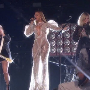 ICYMI.  Watch Beyoncé Perform 'Daddy Lessons' With The Dixie Chicks At This Year's Country Music Awards.