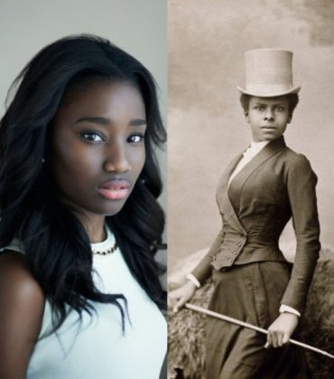 First Look.  Karidja Touré as a 19th Century Equestrian in 'The Adventures of Selika.'