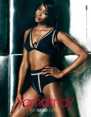 Naomi Campbell Models Pieces From Her Latest Collaboration With Yamamay.