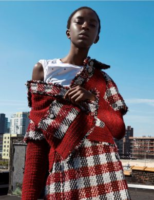 Editorials. Nicole Atieno. Harper's Bazaar Kazakhstan. Images by Louis Christopher.