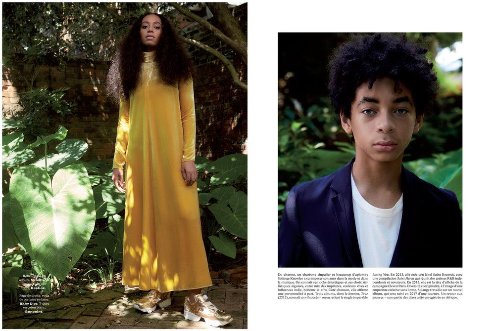 Solange Fashion L'Officiel