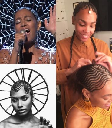 Solange's 'SNL' Hairstyle Was Crafted by Artist Shani Crowe.
