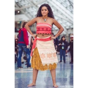This Actress Just Delivered the Perfect Moana Cosplay.