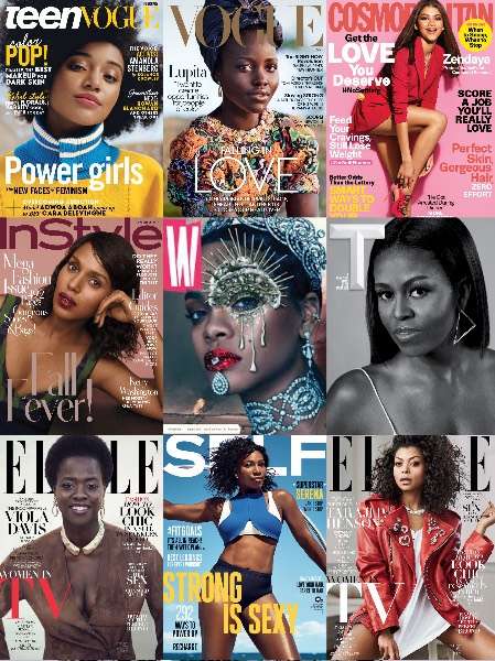 Magazine Covers 2016 Diversity