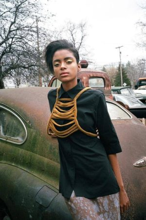 Editorials. Alécia Morais. U Magazine. Images by Kristiina Wilson.