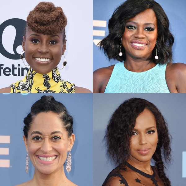 Issa Rae, Viola Davis, Tracee Ellis Ross, Kerry Washington
