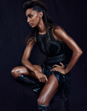 Editorials.  Jasmine Tookes.  Models.com.  Images by Andrew Yee.