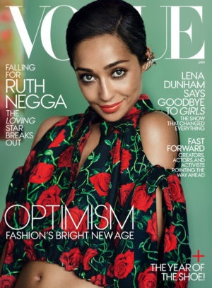 'Loving' Star Ruth Negga Covers Vogue.  Images by Mario Testino.