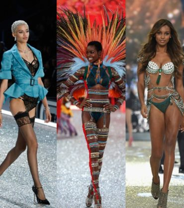 Models On The Runway.  The 2016 Victoria's Secret Fashion Show.