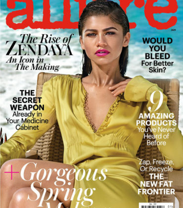 Editorials. Zendaya Covers Allure January 2017.  Images by Jason Kibbler.