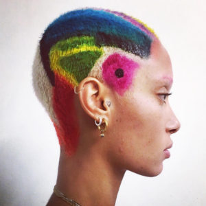 Adwoa Aboah Rings In the New Year With Color.
