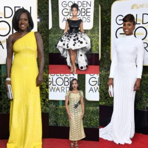 All The Looks You Need To Know.  2017 Golden Globes.