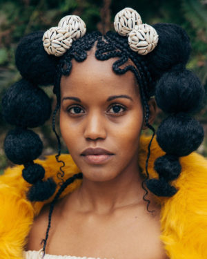 Images.  'Braids' by Shani Crowe.  Live.