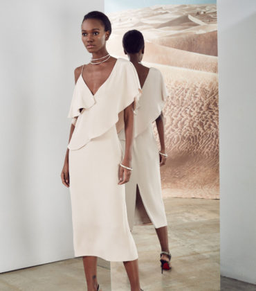 Lookbooks.  Herieth Paul for Cushnie et Ochs Pre-Fall 2017.