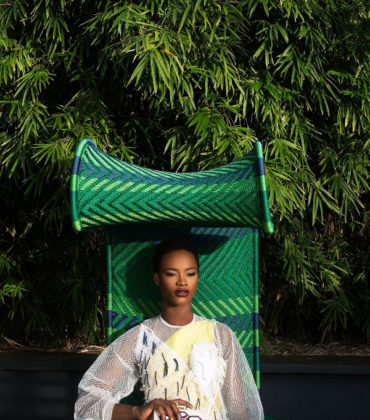 Editorials. Mayowa Nicholas and Uju Marshall Wear Nigerian Designers for Models.com.  Images by Lakin Ogunbanwo.