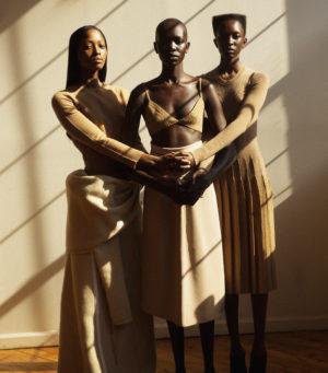 Editorials.  Nicole Atieno. Nyasha Matonhodze. Mari Agory. Flofferz Magazine December 2016. Images by Oliver Katibi Stalmans.