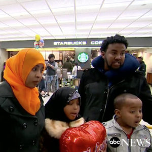 Somali Woman Held With Her 2 Children at Dulles Airport For 20 Hours With No Food or Water.
