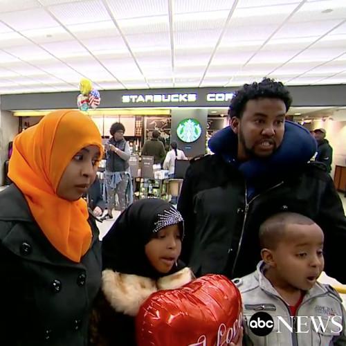 Muslim ban Somali Woman