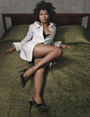 Quick Takes. Taraji P. Henson and Naomie Harris for W Magazine.