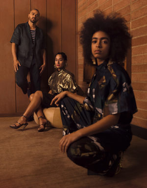 Tracee Ellis Ross, Kelsey Lu, and Jesse Williams Star in New Kenzo Campaign.