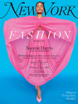 Naomie Harris Covers New York Magazine's Spring Fashion Issue.  Images by Erik Madigan Heck.