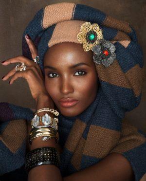 Editorials. Fatima Siad.  Nylon Magazine.  Images by Rowan Papier.