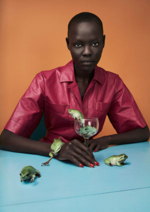 Editorials. Grace Bol.  Luncheon Magazine #3.  Images by Sølve Sundsbø.