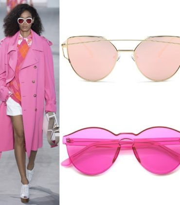 Shopping Post.  Rose Colored Glasses.