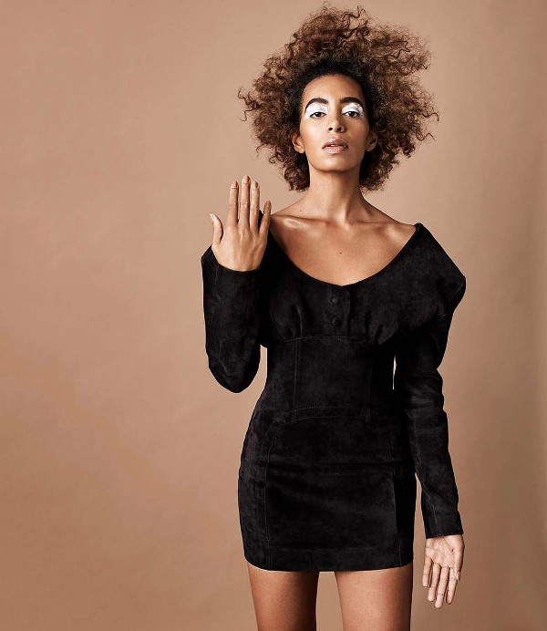 Solange Fashion BUST Magazine