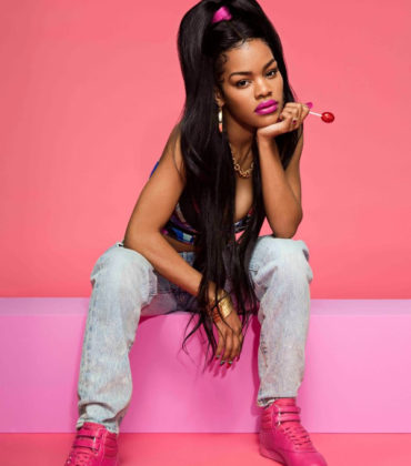 Reebok Drops Second Collaboration Collection With Teyana Taylor.