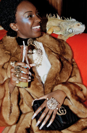 Gucci Casts an All-Black Campaign For Pre-Fall 2017.
