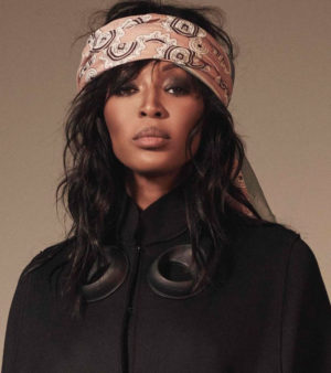 Editorials. Naomi Campbell.  Sorbet Magazine Spring 2017. Images by Nico Bustos.