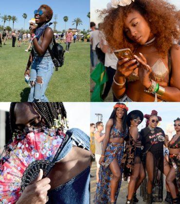 Street Style.  Coachella 2017 Edition.